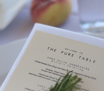 The Pure Table Premier Farm to Table 2014